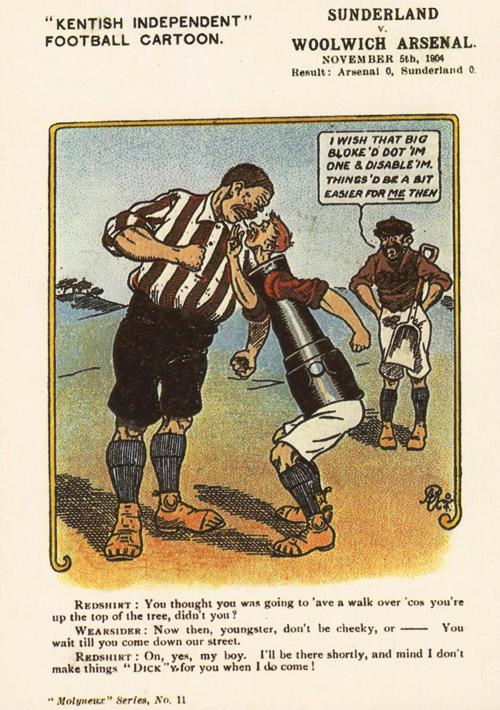 KI Sunderland 5 Nov 1904 postcard a