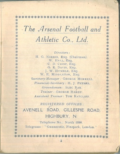 The Arsenal handbook 1914-15