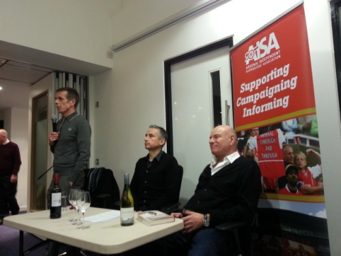 Tom Watt, Alan Smith and Patrick Barclay
