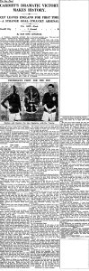 1927 FA Cup Final report (click to enlarge)