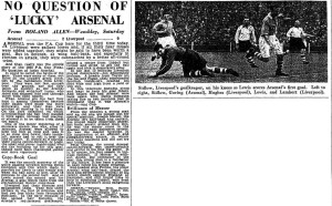 1950 FA Cup Final report (click to enlarge)