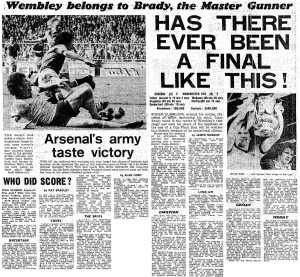 1979 FA Cup Final report (click to enlarge)