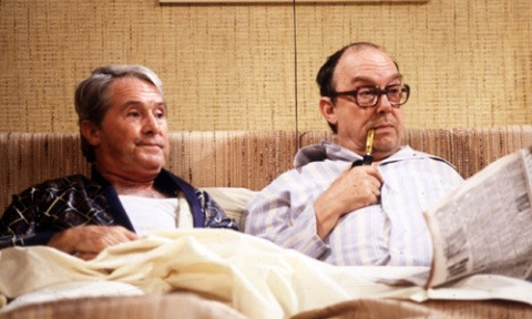 Two men in bed together in the 1970s and no one raised an eyebrow.