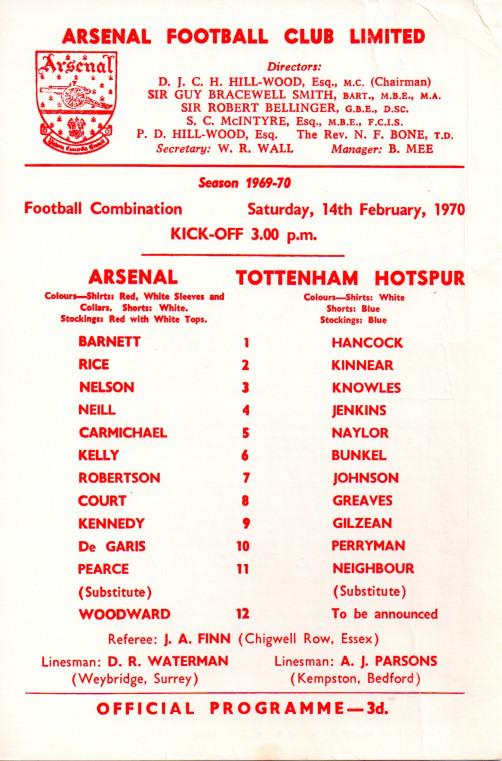 1970-02-14 Tottenham Hotspur (H) FC (1)