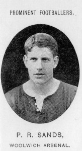 Woolwich Arsenal Captain, Percy Sands