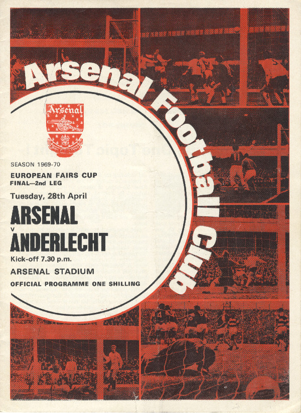 The programme for that historic night Click on the cover to read the whole programme