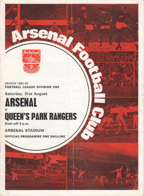 1968-09-31 QPR programme cover