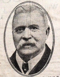 John McKenna, the long time President of the Football League
