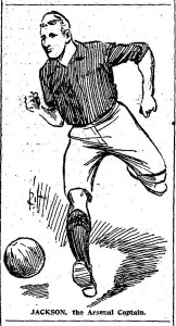 1904-10-10 Daily Mail - Arsenal captain Jackson a