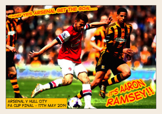 It's Aaron Ramsey by Tasha - #OpAa
