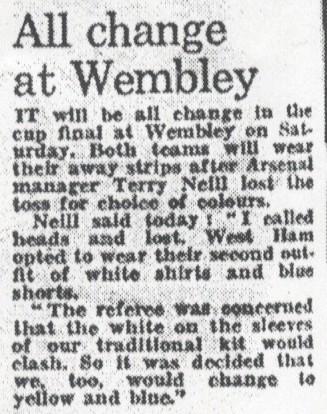 London Evening Standard 7 May 1980