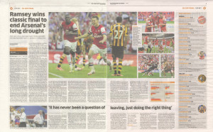 2014 FA Cup final report (click to enlarge)