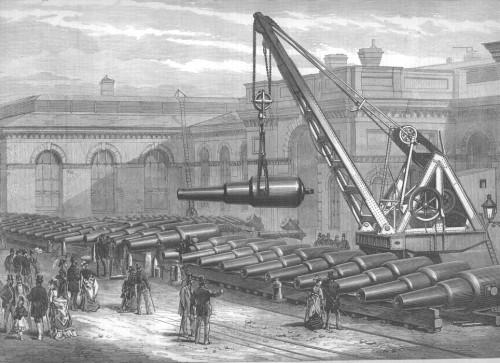 Woolwich Arsenal Crane