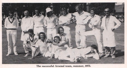 1973-08-18 Wolverhampton Wanderers (H) FAC Arsenal cricket team 73