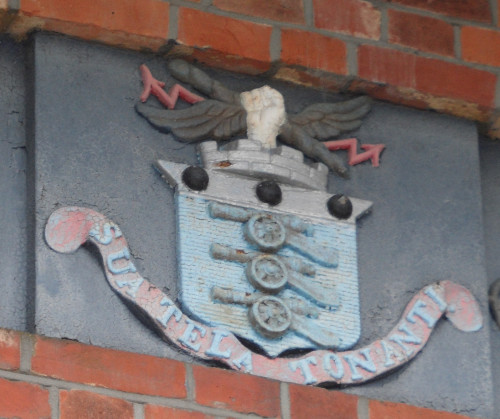 Crest on Beresford Gate