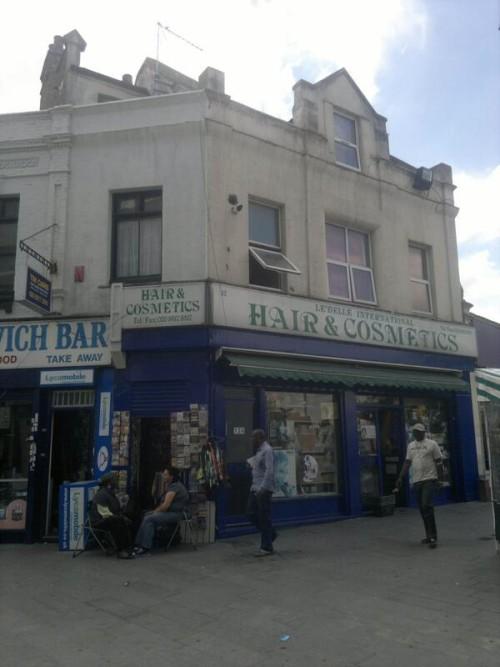 George Lawrance's Newsagent Location