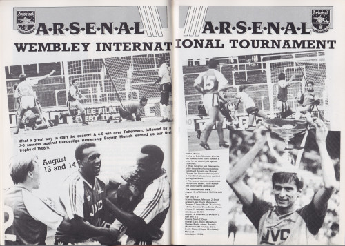 Wembley International Tournament 1988 (click to enlarge)