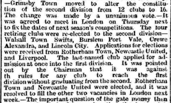 North Eastern Daily Gazette 27 May 1893
