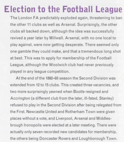 Arsenal's Official History
