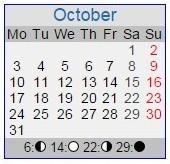 1932 Calendar