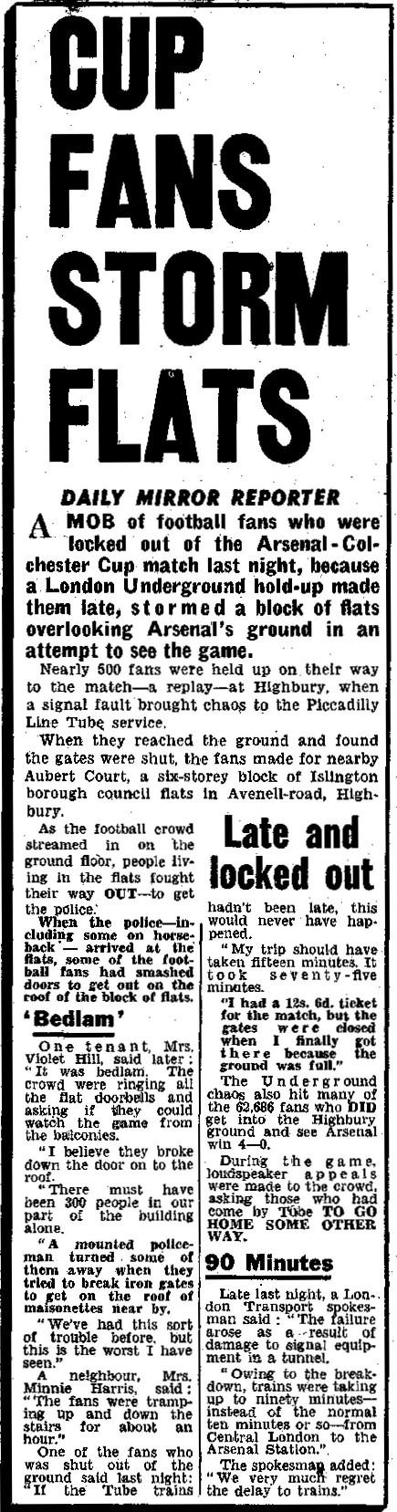 Daily Mirror 29 January 1959
