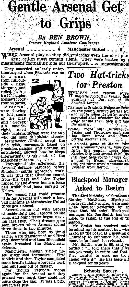 Sunday Times 2 February 1958