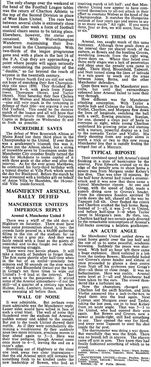 The Times 3 February 1958