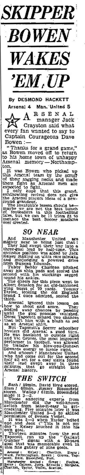 Daily Express 3 February 1958