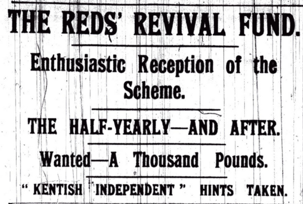 Kentish Independent 28 January 1910