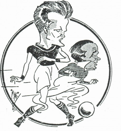 James glides past a 30s Beavis - MAC in Topical Times
