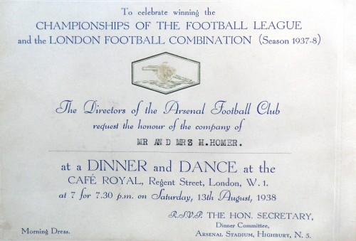 Celebration Dinner and Dance: courtesy of Arsenal museum