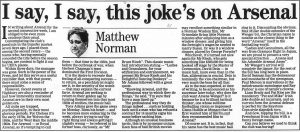 No, the joke has been on you for 20 years Matthew (click to enlarge)